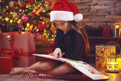 Noël féerique Photographie stock libre de droits