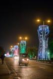 Noël à Lagos Image libre de droits
