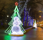 Noël Moscou Photo libre de droits