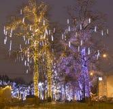 Noël à Moscou Photographie stock libre de droits