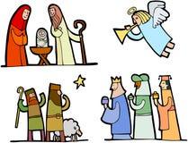 Noël a placé (3) Image stock