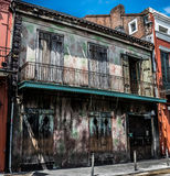 NOLA French Quarter Preservation Hall Jazz Club Fotografia de Stock
