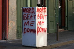 NOLA Message Stock Images