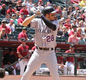 Nolan Arenado royalty free stock photography