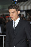 Nolan Gerard Funk. LOS ANGELES, CA - AUGUST 28, 2013: Nolan Gerard Funk at the world premiere of his movie Riddick at the Regency Village Theatre, Westwood royalty free stock photography