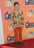 Nolan Gould. LOS ANGELES, CA - MAY 1, 2014: Nolan Gould at the 2014 iHeartRadio Music Awards at the Shrine Auditorium, Los Angeles stock image