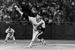 Nolan Ryan, anges de la Californie Photo libre de droits