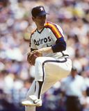 Nolan Ryan. Houston Astros Hall of Fame Pitcher Nolan Ryan. (Image taken from color slide Stock Images