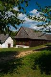 从Nolcovo的村庄-斯洛伐克村庄的博物馆, JahodnÃcke hà ¡ je,马丁,斯洛伐克 免版税库存图片