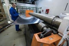 Noleggio di alluminio dello strato Immagini Stock Libere da Diritti