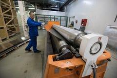Noleggio di alluminio dello strato Immagine Stock