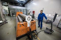 Noleggio di alluminio dello strato Fotografia Stock