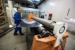 Noleggio di alluminio dello strato Fotografia Stock Libera da Diritti