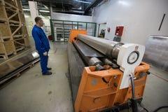Noleggio di alluminio dello strato Fotografie Stock Libere da Diritti