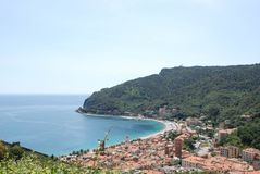 Noli, Λιγυρία - Ιταλία στοκ εικόνες