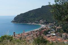 Noli, Лигурия - Италия стоковая фотография rf
