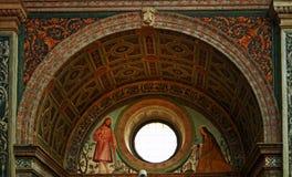 San Maurizio al monastero maggiore Milan royalty free stock images