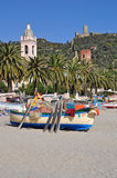 Noli, Riviera Ligure, Italy Royalty Free Stock Images