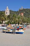 Noli, Riviera Ligure, Italy Royalty Free Stock Images