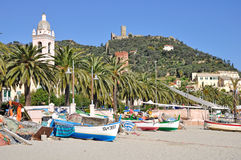 Noli, Riviera Ligure, Italy Stock Image