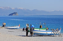 Noli, Riviera Ligure, Italy Royalty Free Stock Photos