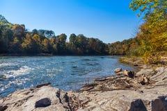 nolichucky rzeka Fotografia Royalty Free