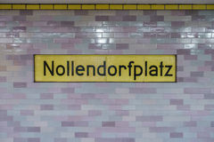 Nollendorfplatz Royalty Free Stock Photos