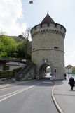 Nolliturn Tower of Musegg Wall in Lucerne Stock Photography