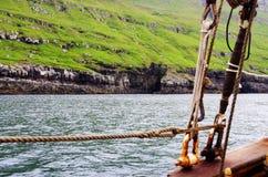 Nolsoy - isole faroe Fotografia Stock