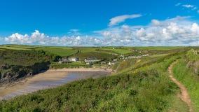 Nolton tillflyktsort, Pembrokeshire, Dyfed, Wales, UK royaltyfri bild