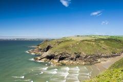 Nolton tillflyktsortfjärd Pembrokeshire Royaltyfria Foton