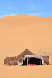 The nomad (Berber) tent. In the Sahara, Morocco Stock Images