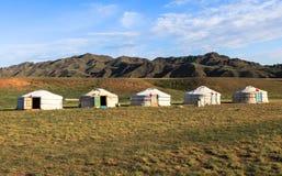 Free Nomad Life Of Mongolian On Savanna Stock Photo - 124983780