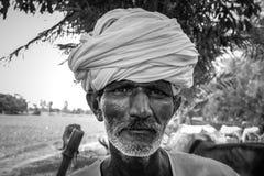 Nomad Monochrome Portrait Stock Photos