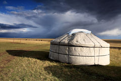 Nomad's tent Royalty Free Stock Photography