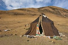 Nomad tent Royalty Free Stock Images