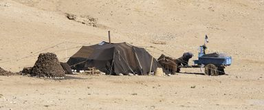 Nomad Tent Stock Photography