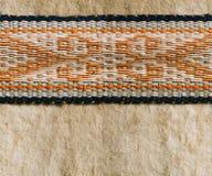 Nomad yurt detail - thick felt background Royalty Free Stock Images
