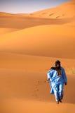 Nomade a piedi nudi Fotografie Stock