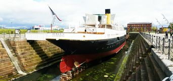 Nomadic boat Royalty Free Stock Photos