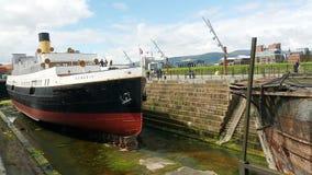 Nomadic boat Royalty Free Stock Image