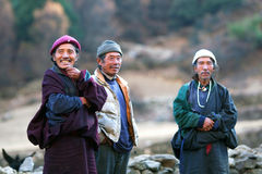 Nomadic people, Nepal Stock Image