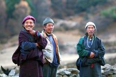 Nomadic people, Nepal Stock Image