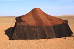 Nomadic tent. In Erg Chebbi, Morocco Royalty Free Stock Image
