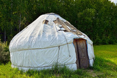 Nomadic Yurt Royalty Free Stock Image