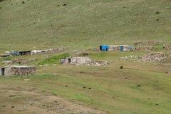 Nomadsommarläger Royaltyfria Foton