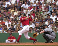 Nomar Garciaparra Boston Red Sox shortstop. Royalty Free Stock Image