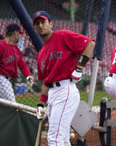 Nomar Garciaparra, Boston Red Sox. Boston Red Sox SS Nomar Garciaparra #5. (Image taken from color slide Royalty Free Stock Photography