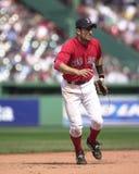 Nomar Garciaparra, Boston Rode Sox Stock Afbeelding