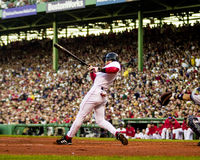 Nomar Garciaparra in Game 3 of 2003 ALCS. Red Sox SS Nomar Garciaparra batting in the 2003 ALCS. (Image taken from color slide Stock Photography